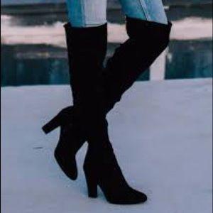 5aa8e9992f4 Steve Madden Shoes - Steve Madden Ezra Thigh High Boots